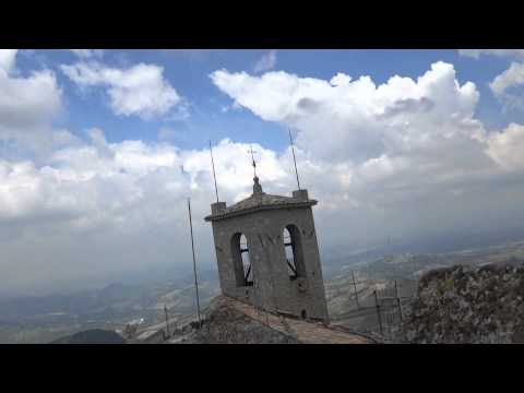 """San Marino - top of """"Rocca della Guaita"""""""