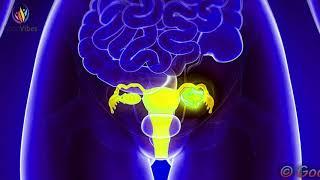 Ovarian Cyst Healing Meditation ➤ Reduce Ovarian Cyst Pain ➤ Delta Binaural Beats Sound Therapy