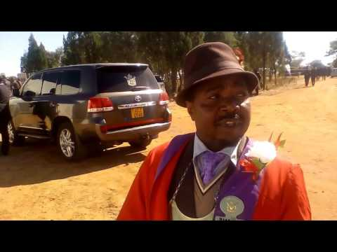 HRE BB Road Ground Breaking Ceremony: Chief Zimuto