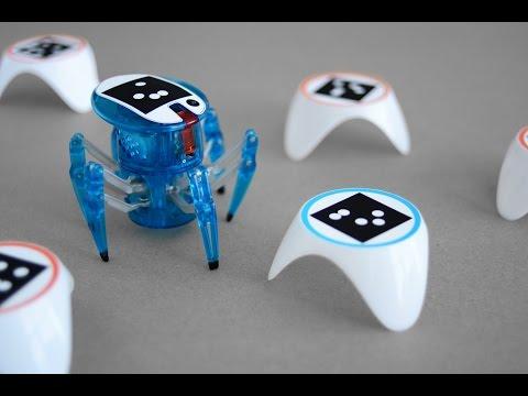 Смартфон превратили в «мозг» игрушечных робопауков