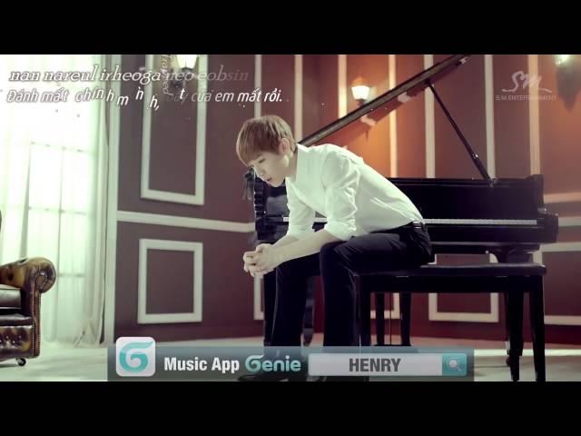 [Vietsub + Karaoke][MV] TRAP ~ Henry Lau _ 헨리 feat 규현 & 태민