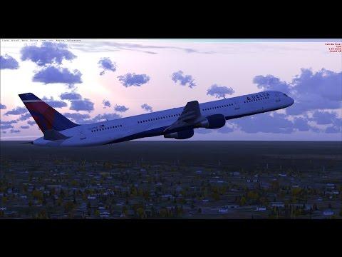 [FSX-SE] Arrival into Tegucigalpa, Honduras 757-300