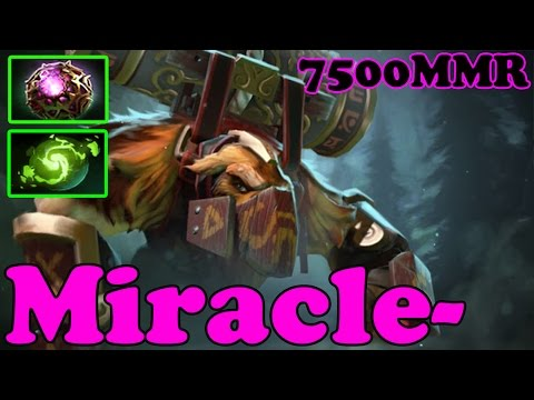 Dota 2 Miracle 7432 MMR Plays Anti Mage And Bloodseeker Ranked Match Gameplay Youtube