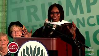 Whoopi Goldberg Speaks At Goodwin College Commencement | The View