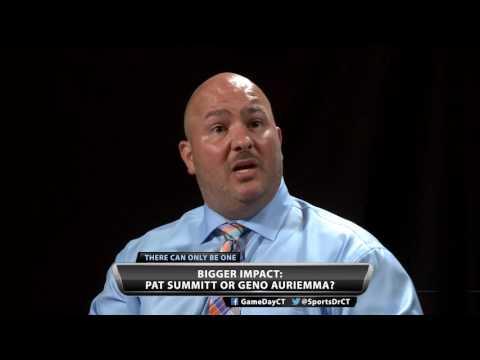 Bigger impact: Pat Summitt or Geno Auriemma?