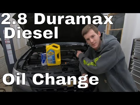 How To Change The Oil Diesel Exhaust Fluid Def In An Lwn 2016 Duramax Colorado Canyon Youtube