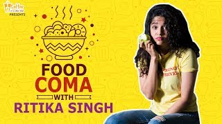 Ritika Singh in Food Coma - Dinner Date with the actress of neevevaroo