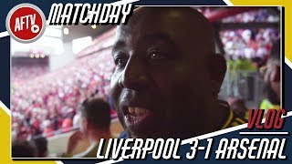 Liverpool 3-1 Arsenal Match Day Vlog | Oh No, Not Again!