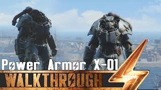 Fallout 4 - Best Power Armor X-01 All Locations Guide Showcase