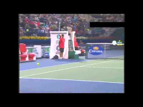 Roger Federer vs Nikolay Davydenko Quater Final HIGHLIGHTS ATP Dubai Open 2013