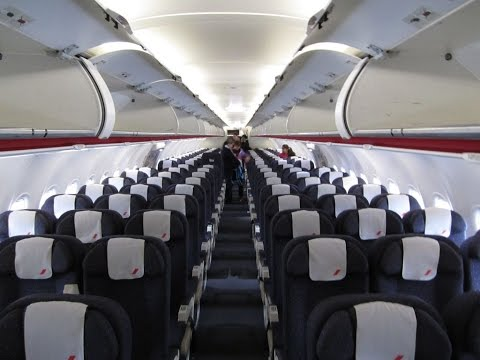 AIR FRANCE A321 ECONOMY CLASS AF 7625 BORDEAUX - PARIS
