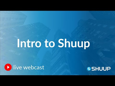 Webinar: Creating Your Custom Marketplace With Shuup