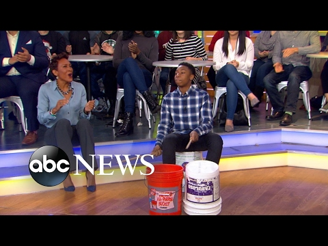 Viral NYC Drummer Boy Performs Live on