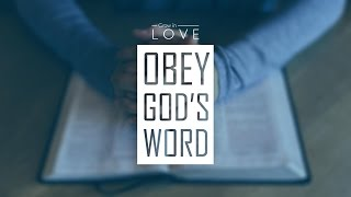 Gambar cover Grow in Love - Obey God's Word - Ricky Sarthou
