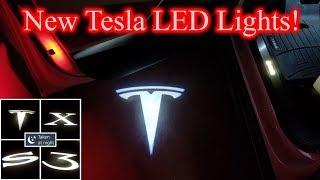 Tesla LED Door Lights from Abstract Ocean!