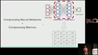Making Deep Neural Networks smaller and faster