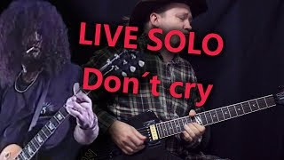 Играем концертное соло DON'T CRY - Guns N' Roses! Разбор и табы!