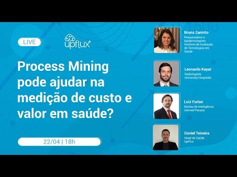 Process Mining pode ajudar na medição de custos e valor em saúde? | Live UpFlux