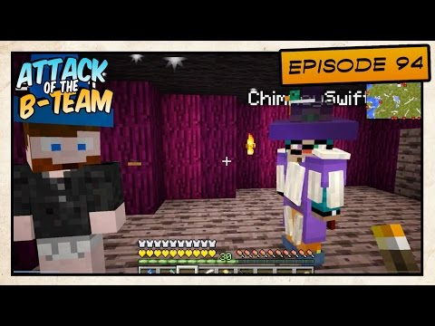 Minecraft - Attack of the B-Team! - Recording Chimney's Commercial - E94