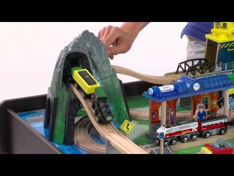Mountain Rock Train Table At Toys