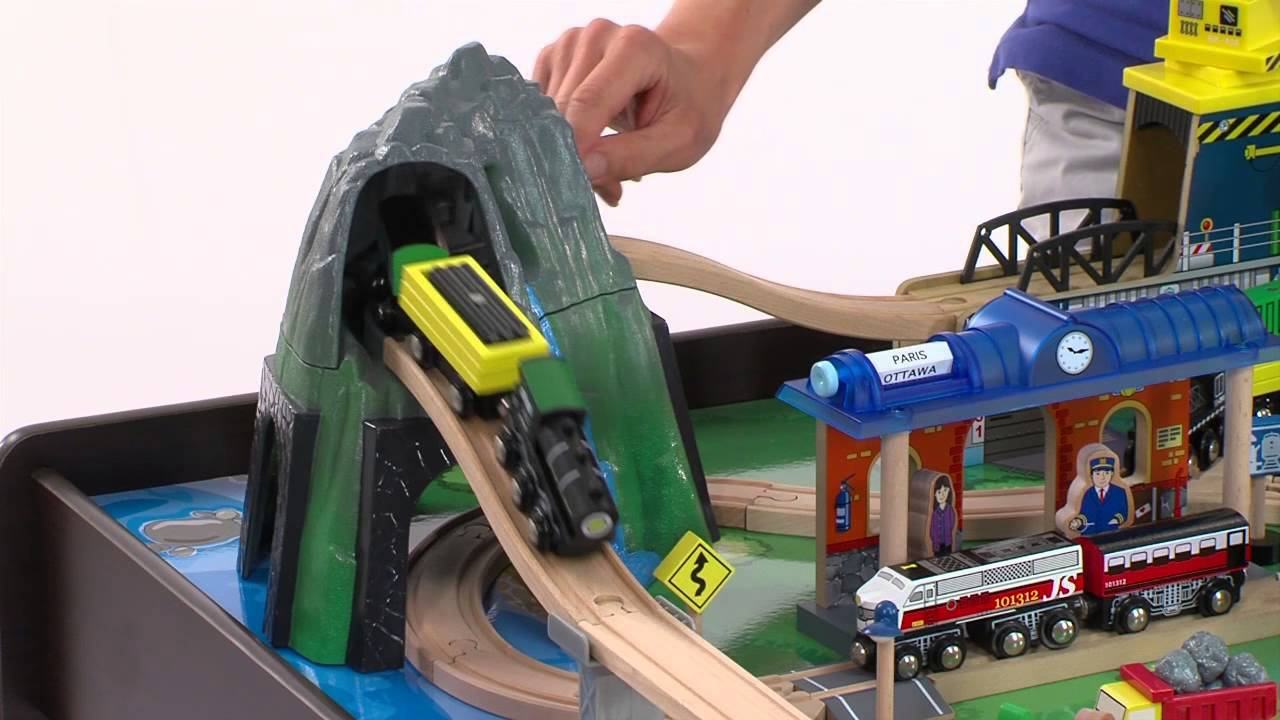 Mountain Rock Train Table At Toysquotrquotus Youtube. SaveEnlarge · Imaginarium Train Table Set ... & Wooden Train Set Table Toys R Us - Castrophotos