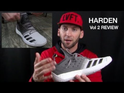 641784031ed55 Adidas Harden Vol 2 Review + ON FEET LOOK - YouTube