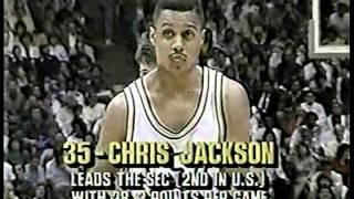 Chris Jackson (48pts/10ast) Destroys Florida (1989) PART 2