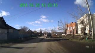 ДТП 27 10 12 г Оса перекресток Ст  Разина  Злыгостева