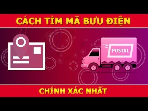 Cách tìm mã bưu điện chính xác nhất