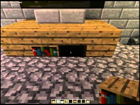 how to make an entertainment center in minecraft youtube. Black Bedroom Furniture Sets. Home Design Ideas