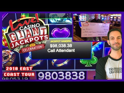 💰🎰GIANT JACKPOT Of $98,038 At LIVE❗Casino Maryland 🎰🌐Biggest Lock It Link Jackpot ✦ BCSlots #AD