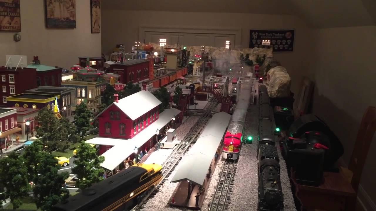 O Gauge Train Layout Youtube