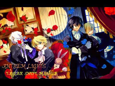 "*NIGHTCORE*---""Taylor Swift Mashup""(ANTHEM LIGHTS)"