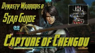 Dynasty Warriors 8 (Jin) Capture of Chengdu Star Guide (English)