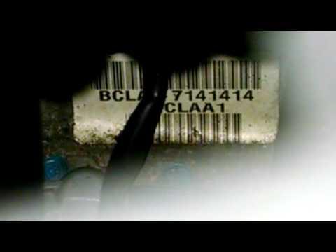 Transmission code location Honda Accord
