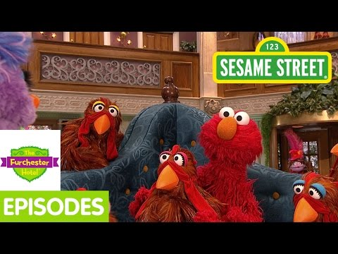 Furchester Hotel: Elmo and Phoebe Lose Their Chickens! (Full