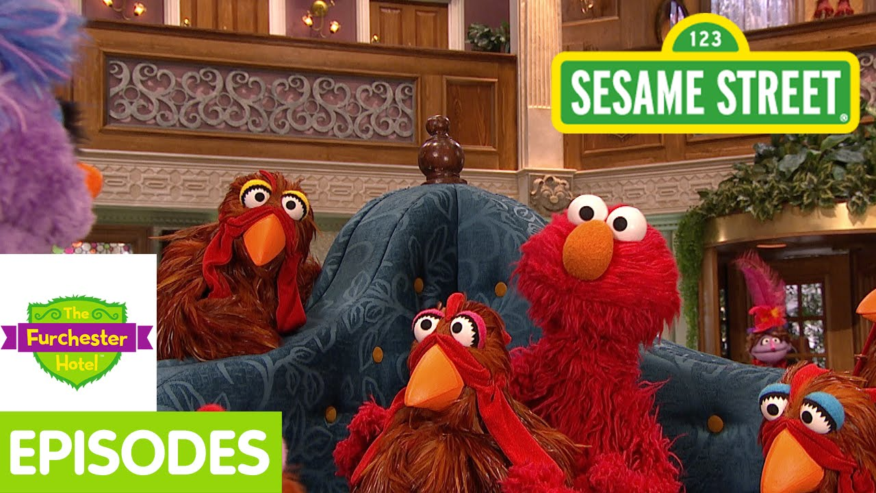 furchester hotel  elmo and phoebe lose their chickens   full episode