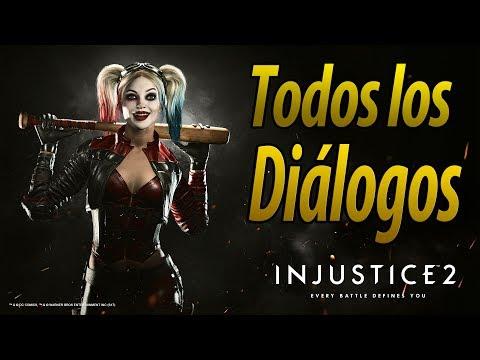 Injustice 2 | Español Latino | Todos los Diálogos | Harley Quinn | PS4 |
