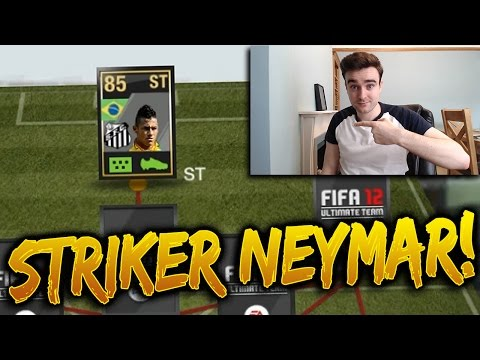 STRIKER NEYMAR!!! THE BEST INFORM STRIKER IN FIFA HISTORY?!? Retro Fifa 12 Inform Striker Neymar