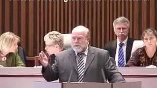 1. Landtagssitzung MV, 16.10.06: Einführung D'Hont-Verfahren