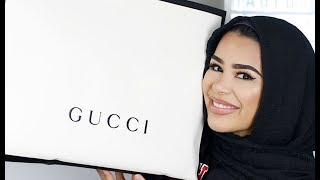 UNBOXING MY FIRST GUCCI PURCHASE | HABIBA DA SILVA