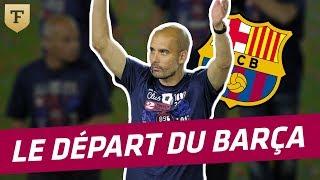 FC Barcelone : Le départ de Pep Guardiola (2012)