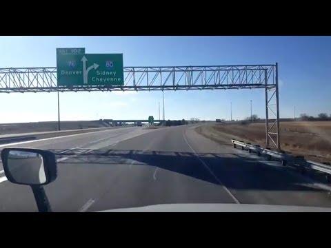 BigRigTravels LIVE! Lincoln, Nebraska to Cheyenne, Wyoming Interstate 80 West-Jan. 11, 2018