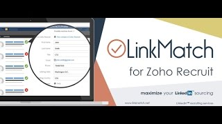 LinkMatch Profile Update Feature For Zoho Recruit / LinkedIn