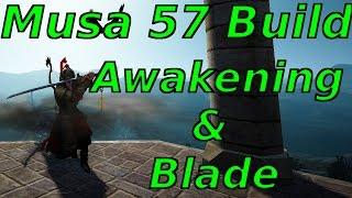 Black Desert Musa/Blader Guide: 57 Skillbuild with 800 SP(Both regular and Awakening weapon)