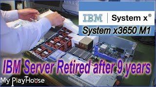 IBM System x3650 M1, now out of production and of Rack - 232