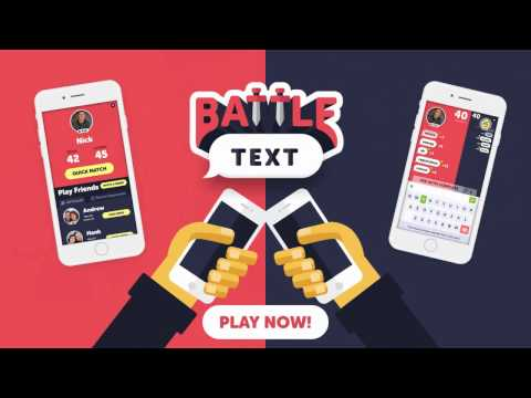BattleText App - Texting Battle Game - Outsmart Friends & Enemies In This Unique Word Game