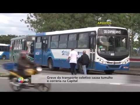Greve no transporte público afeta comércio