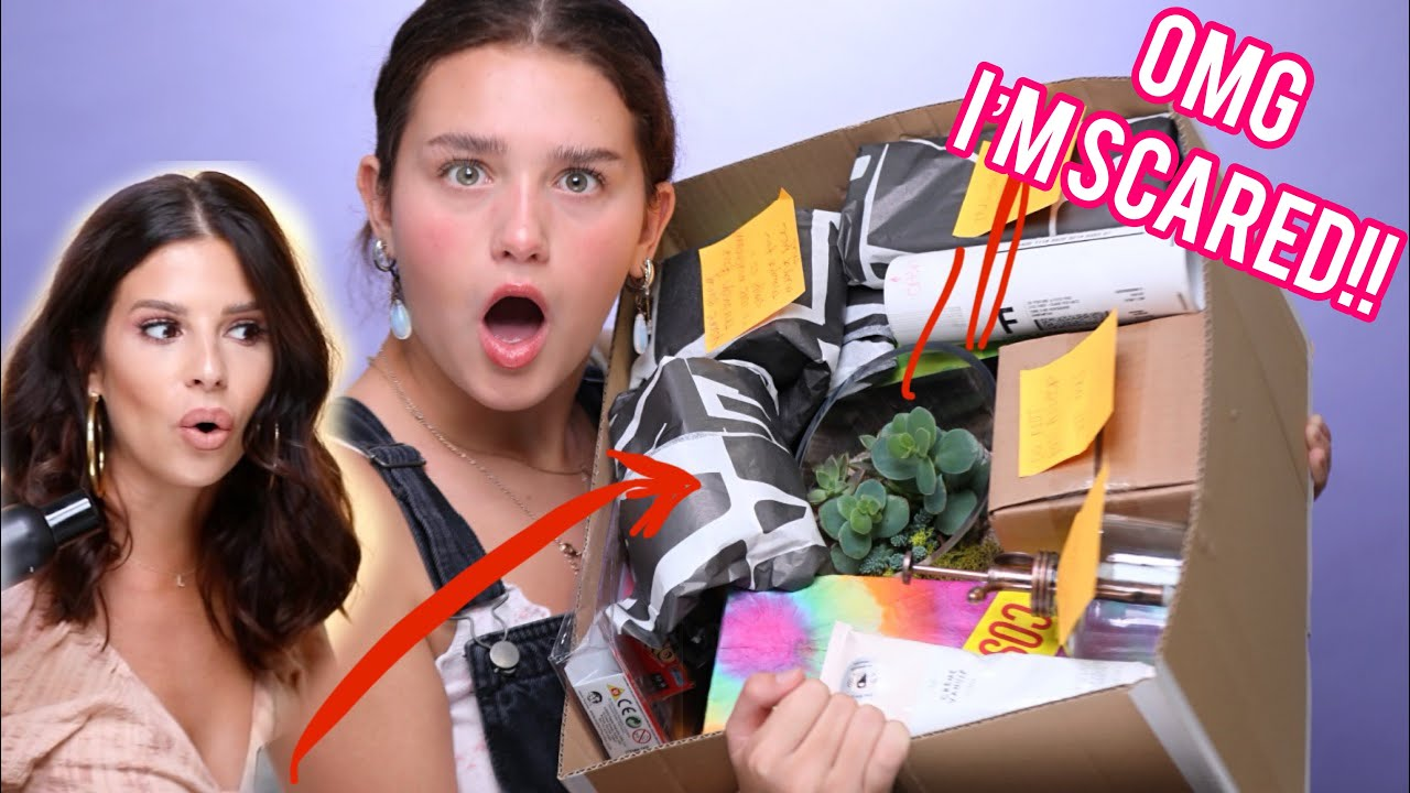 I PAID MY AUNT $500 TO MAKE ME A MYSTERY BOX!!