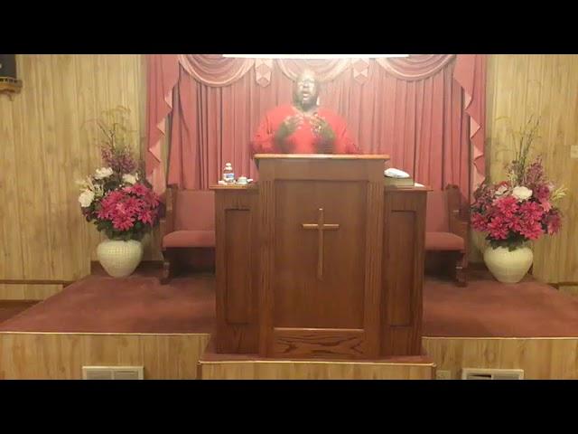 Sunday's Sermon by Bro. John T. Somerville January 10, 2021